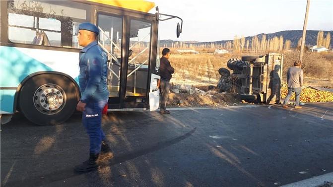 Mersin'de Gülnar'da Cenaze Dönüşü Kaza