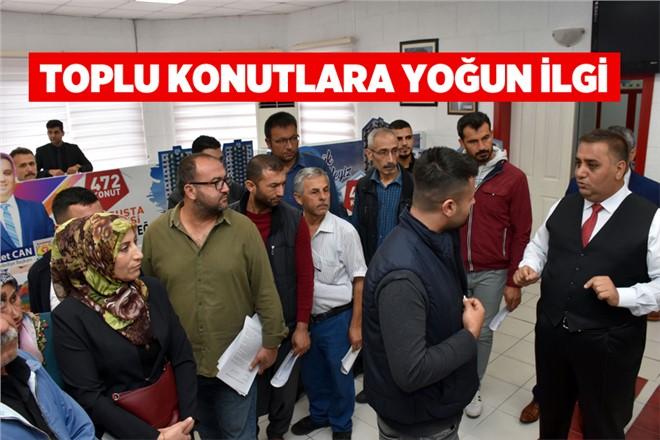 Tarsus Belediyesi Tarafından Yaptırılacak Olan Toplu Konuta Yoğun İlgi