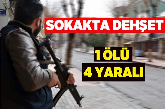 Adana'da Sokak Ortasında Silahlı Çatışmada 1 Kişi Öldü 4 Kişide Yaraladı