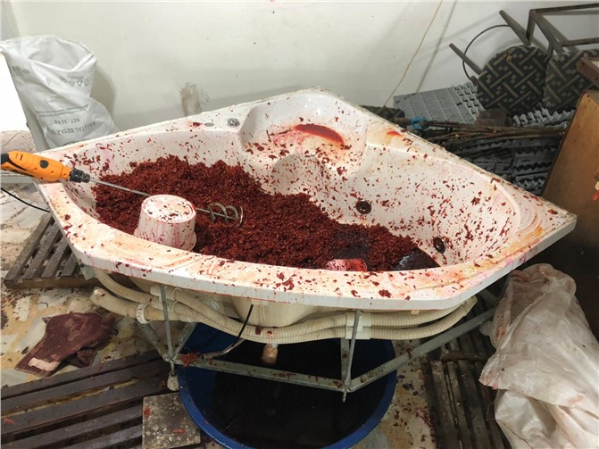 Mersin'de Sahte Fason Nargile Türünü Operasyonu