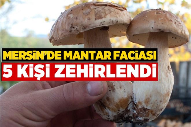 Mersin Tarsus'ta Mantar Yiyen 5 Kişi Zehirlendi