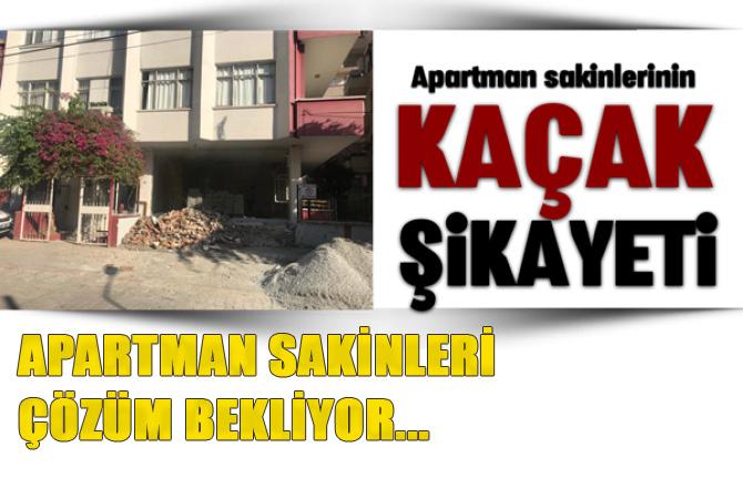 Mersin Tarsus'ta Apartman Sakinlerinden Tepki