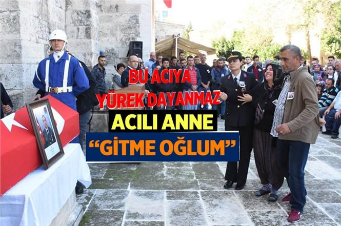 Rahatsızlık Sonucu Hayatını Kaybeden Uzman Çavuş Mustafa Hoş Tarsus'ta Toprağa Verildi