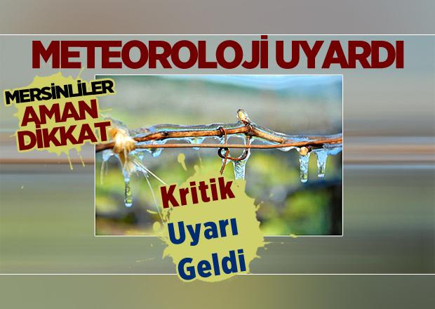 Mersin - Adana - Antalya İçin Önemli Uyarı, Meteorolojiden Kritik Uyarı Geldi