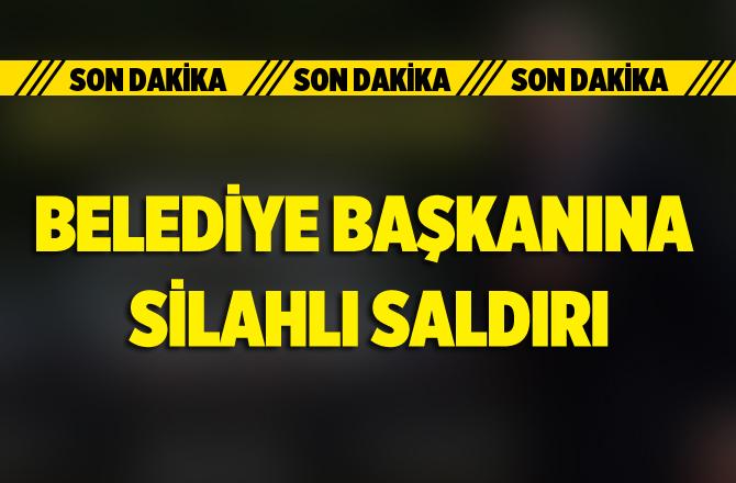 Osmaniye Hasanbeyli Belediye Başkanı Alparslan Koca'ya Silahlı Saldırı