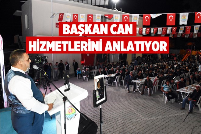 Mersin Tarsus Alifakı Mahallesi'nde Başkan Can Sevgisi