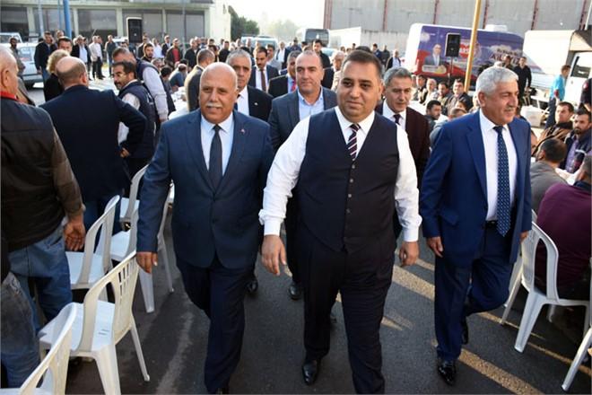 Tarsus Belediye Başkanı Can Sanayi Esnaflarıyla Biraraya Geldi