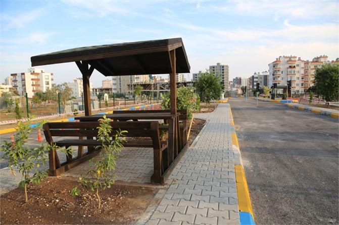 Trafikte Çocuk Kontrolü, Mersin Erdemli'deÇocuklar İçin Trafik Eğitim Parkuru