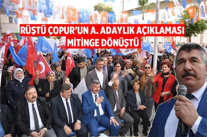 Rüştü Çopur, Tarsus AK Parti'den Aday Adaylığını Açıkladı