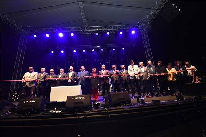 Çukurova Gerdanlığı'nın İlk Halkası Coşkuyla Açıldı
