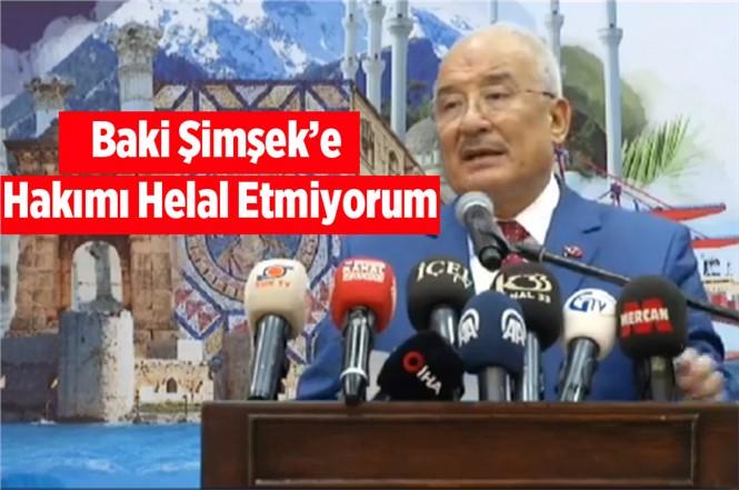 Burhanettin Kocamaz'dan Zehir Zemberek Sözler