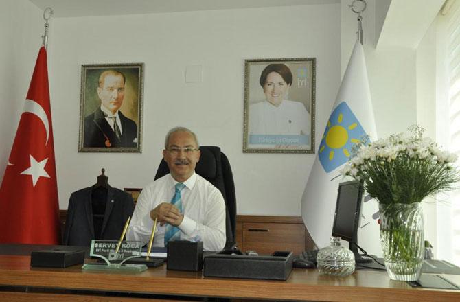 İYİ Parti Mersin İl Başkanı Servet Koca'dan Mevlid Kandili Mesajı
