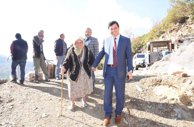Mersin Anamur'da Harballar Köprüsü Açılışa Hazırlanıyor
