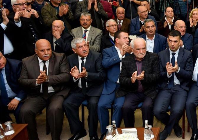 Tarsus Oda Başkanlarından MHP'den İstifa Eden Büyükşehir Belediye Başkanı Burhanettin Kocamaz'a Destek