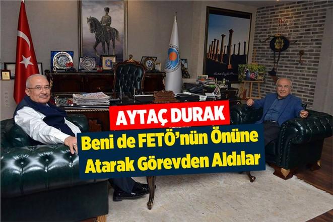 Eski Adana Büyükşehir Belediye Başkanı Aytaç Durak'tan MHP'den İstifa Eden Kocamaz'a Destek Ziyareti