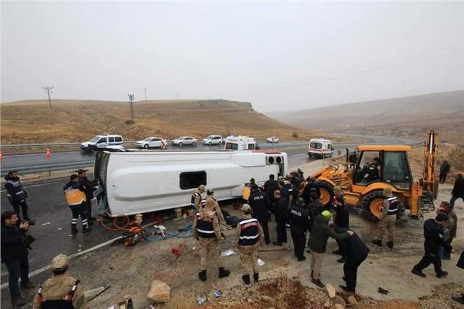 Malatya Darende'de Feci Kaza 7 Ölü 15 Yaralı