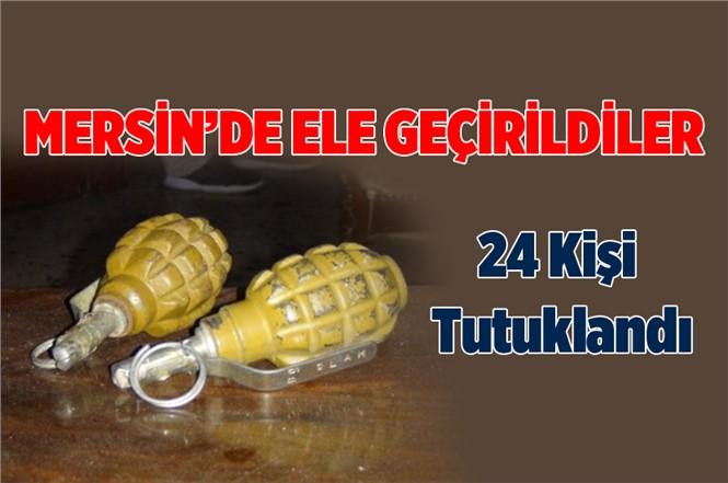 Mersin'de 2 El Bombası Ele Geçirildi