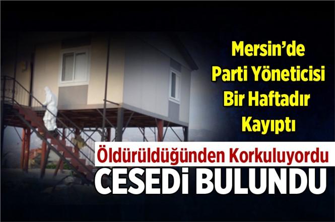 Mersin'de Kayıp Olan Mehmet Gürgen'in Cesedi Bulundu