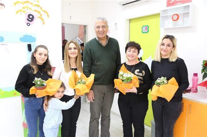 Mersin Mezitli Belediye Başkanı Tarhan'dan Öğretmenlere 24 Kasım Sürprizi
