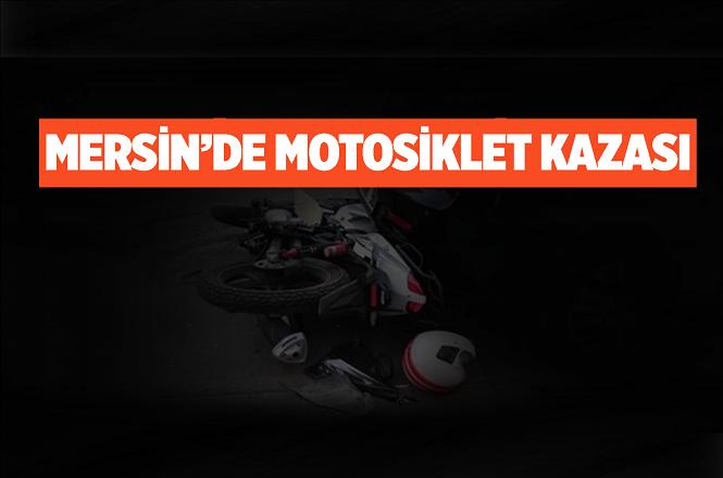 Mersin'in Bozyazı İlçesi Tekeli Mahallesindeki Motosiklet Kazasında 1 Kişi Yaralandı
