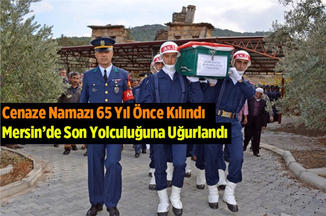89 Yaşındaki Kore Gazisi Mustafa Ataş Anamur'da vefat etti