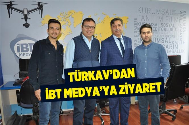 Tarsus TÜRKAV Başkanından İBT MEDYA'ya Ziyaret