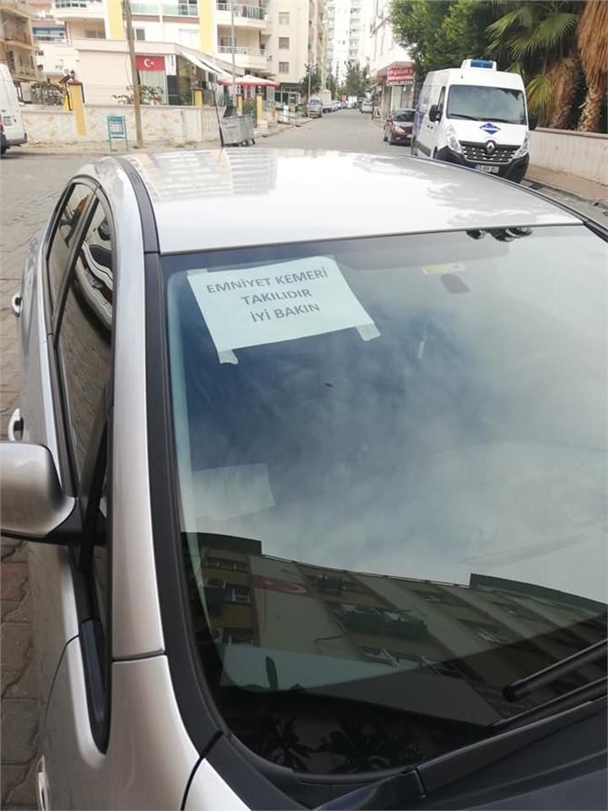 Mersinli Vatandaştan Sosyal Medyada Çok Konuşulan 'Trafik Cezası' Tepkisi