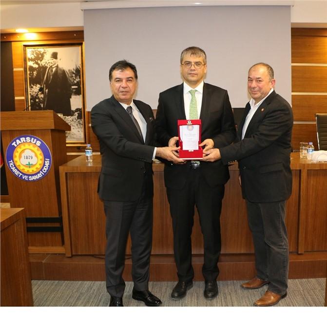Tarsus Ticaret Odası Kasım Ayı Toplantısı Yapıldı