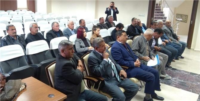 Mersin Tarsus'ta Sulama Kooperatifleri Orunları Konuşuldu
