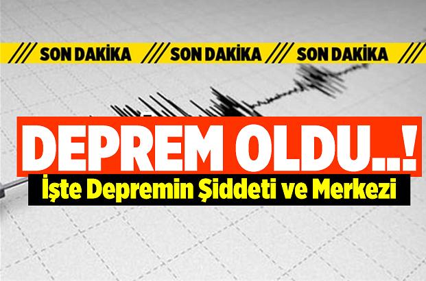 Merkez Üssü Yalova Çınarcık Olan Deprem Meydana Geldi