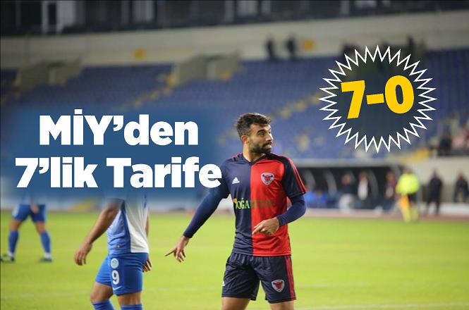 Mersin İdmanyurdu, Tarsus Yıldırım Spor'u 7-0 Yendi