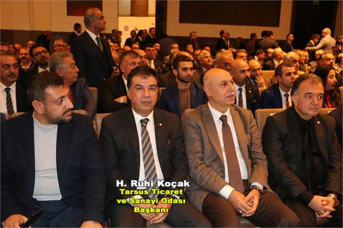 İş Dünyası Adana'da Toplandı, Başkan Koçak Toplantıdan Sonra Görüşmelerde Bulundu