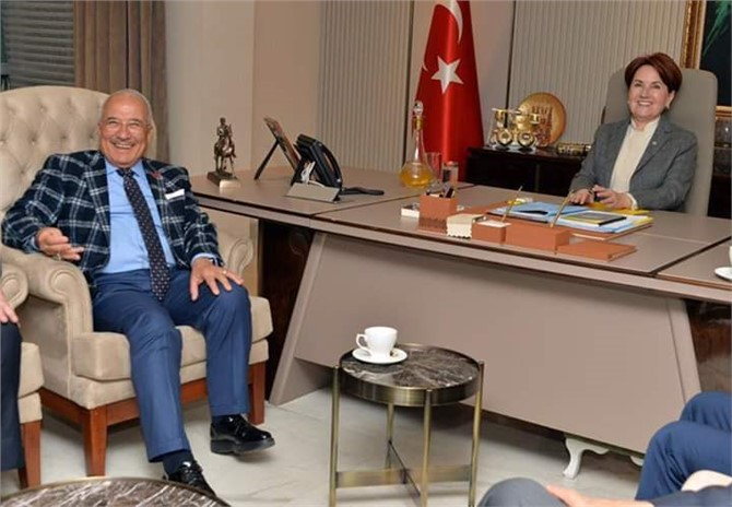 Burhanettin Kocamaz Ankara'da İYİ Parti Genel Merkezinde