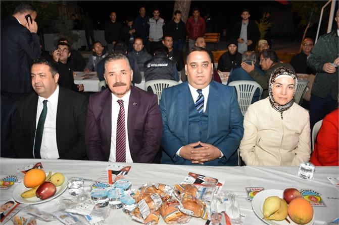 Başkan Can, Aliağa Mahallesi'nde Hizmet Bilgilendirme Toplantısı Yaptı