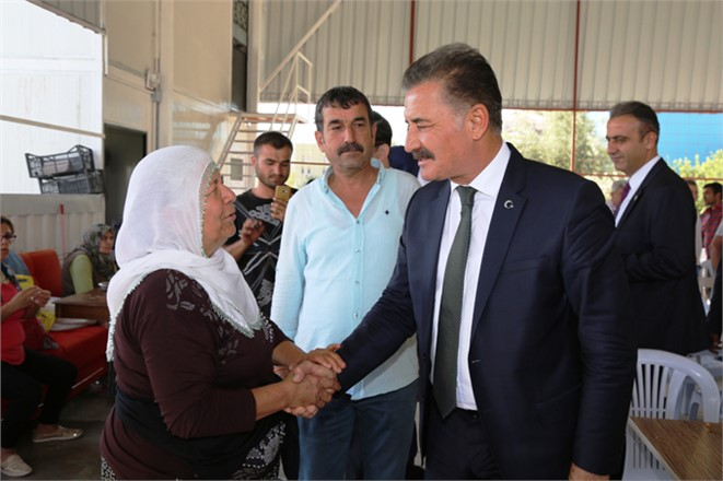 """MHP Büyükşehir Adayı Başkan Hamit Tuna; """"Kadınlarımızın Hep Yanında ve Destekçisiyiz"""""""
