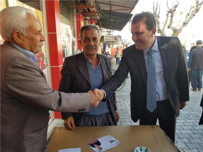 CHP'li Vahap Seçer Mersin'de Büyükşehir İçin Birleştirici İsim
