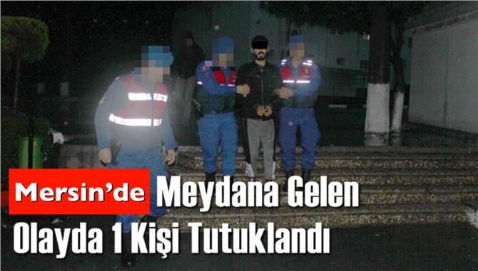 Mersin Tarsus'ta Meydana Gelen Bıçakla Adam Öldürme Olayda 1 Kişi Tutuklandı