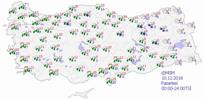 Mersin'de Yeniden Yağışlar Bekleniyor! İşte Mersin'de Son Verilere Göre Hava Durumu Tahminleri