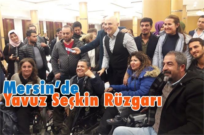 Mersin'de 3 Aralık Dünya Engelliler Günü Etkinliğinde Yavuz Seçkin Rüzgarı