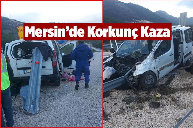 Mersin'in Silifke İlçesi Boğsak Yakınlarındaki Kazada Çok Sayıda Yaralı Var