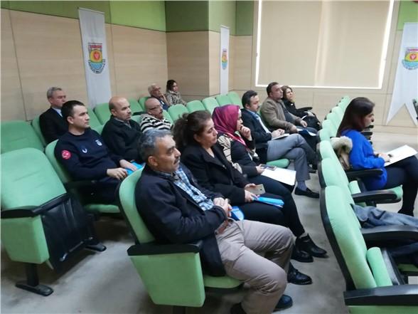 Tarsus'ta Belediye Personellerine Sıfır Atık Eğitimi