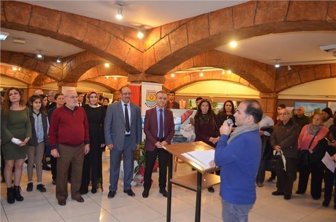 Nurettin Gözen Resim Atölyesi'ninResim Sergisi Açıldı
