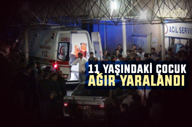 Mersin Tarsus Adanalıoğlu'ndaki Trafik Kazasında, 11 Yaşındaki Çocuk Ağır Yaralandı