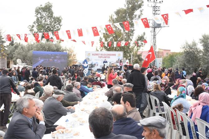 Belediyenin Hacıhamzalı ve Meşelik Mahallesindeki 'Hizmet Bilgilendirme Toplantıları' Yoğun İlgi