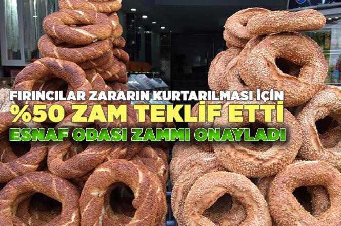 Mersin'in Mut İlçesinde Simit Fiyatlarına Yüzde 50 Zam Yapıldı, Vatandaş Zamma Tepki Gösterdi