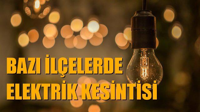 18 Aralık Salı Günü Mersin ve Bazı İlçelerinde Elektrik Kesintileri Yaşanacak, Mersin Elektrik Kesintisi