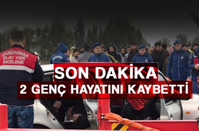 Mersin Tarsus Yenice - Arıklı Mahallesi Arasında Meydana Gelen Kazada 2 Kişi Öldü
