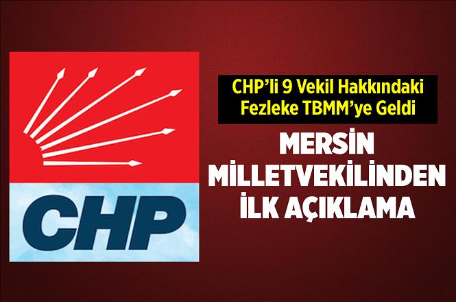 Hakkında Fezleke Hazırlanan CHP'li Ali Mahir Başarır'dan İlk Açıklama