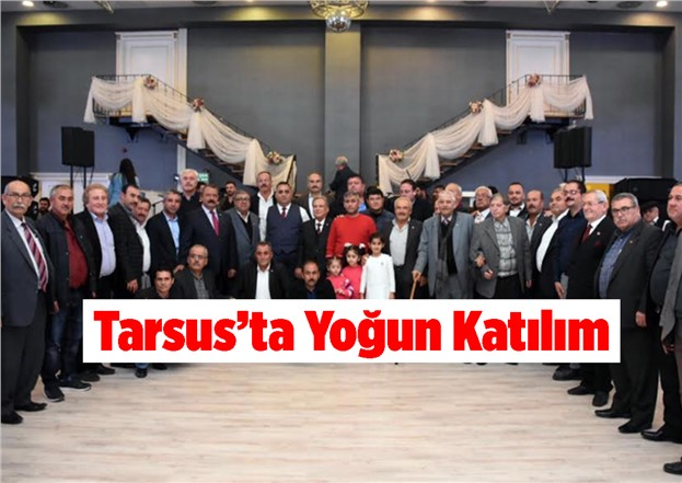 Tarsus Belediyesi Yıl Sonu Hizmet Bilgilendirme Toplantısı Yoğun Katılımla Gerçekleşti