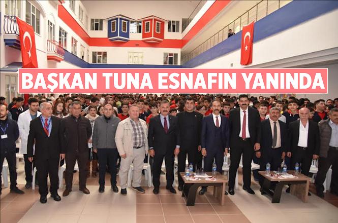 Başkan Hamit Tuna'dan Nakliyeci Esnafına Ziyaret